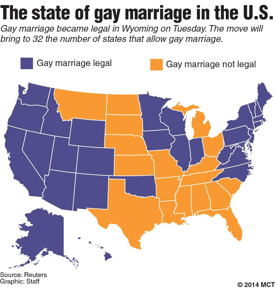 Legal gay marriage state