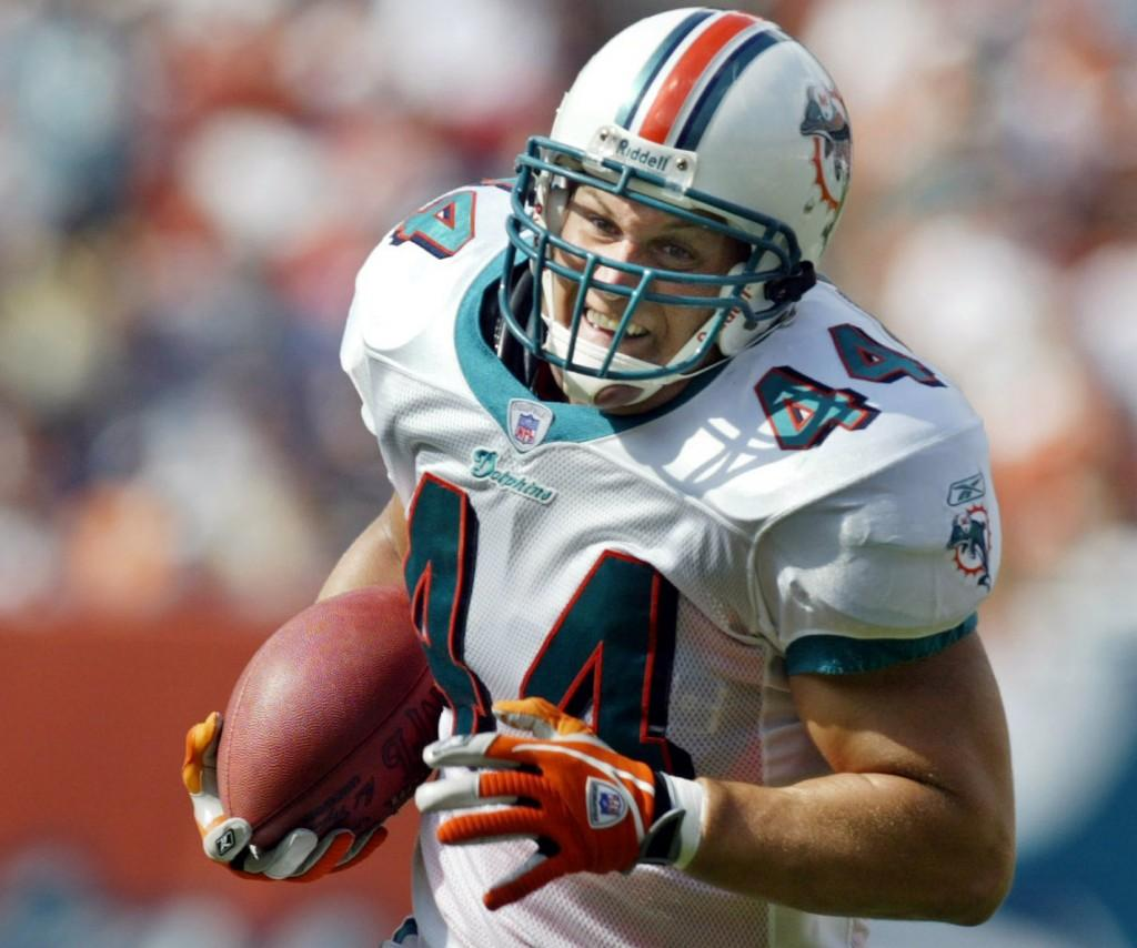 Former Dolphin Swims to Safety