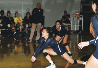 Volleyball Falls in Districts to Tough Competition