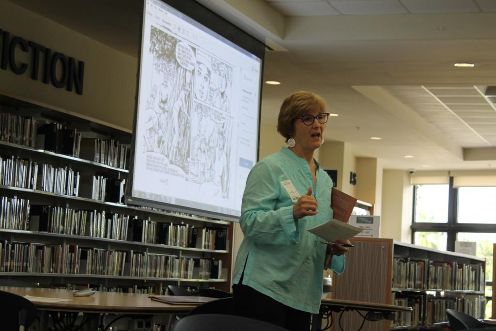 Journalist and Author Patty Shillington Visits Prep Students