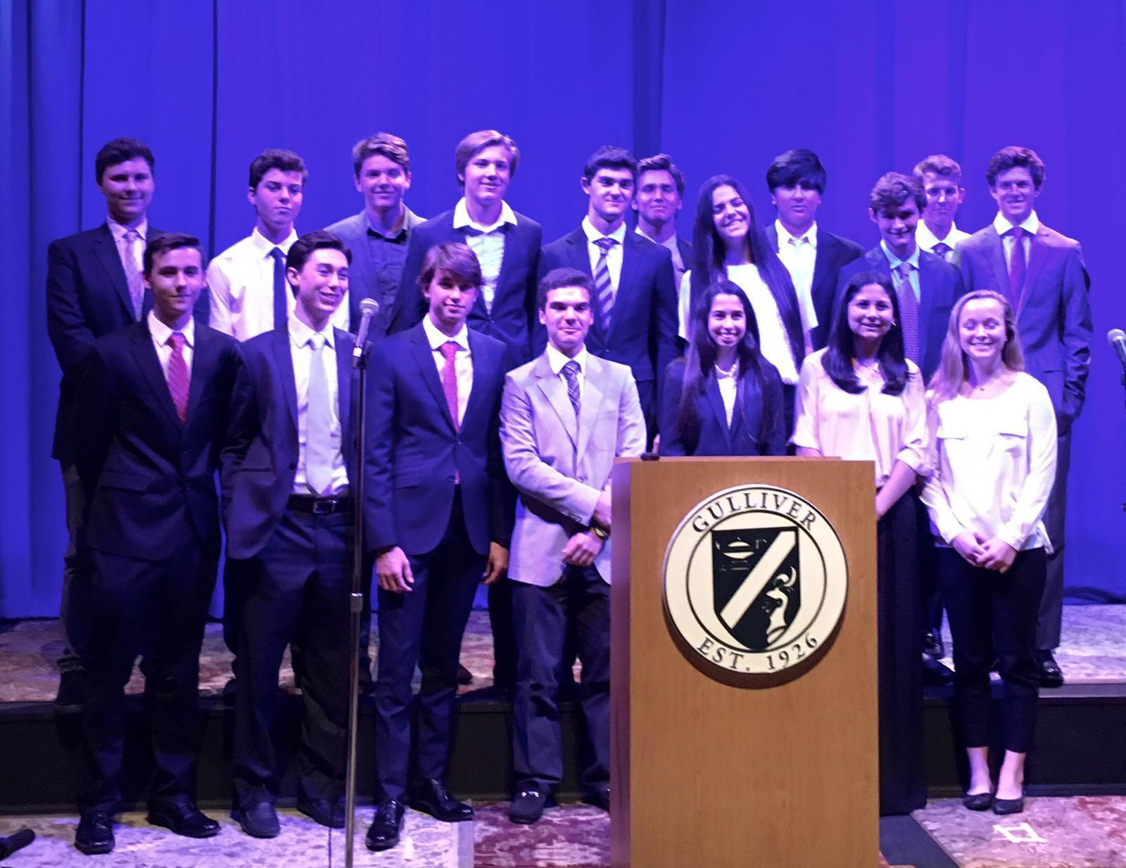 Business Students Shine in Showcase