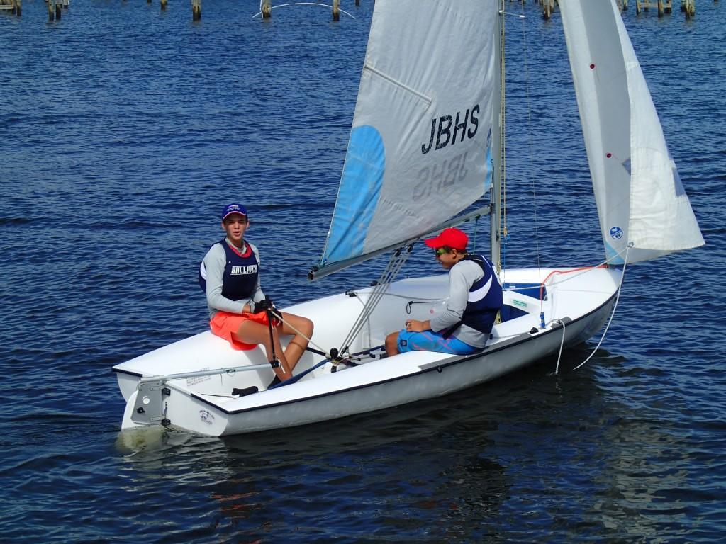 Sailing Team Makes Waves