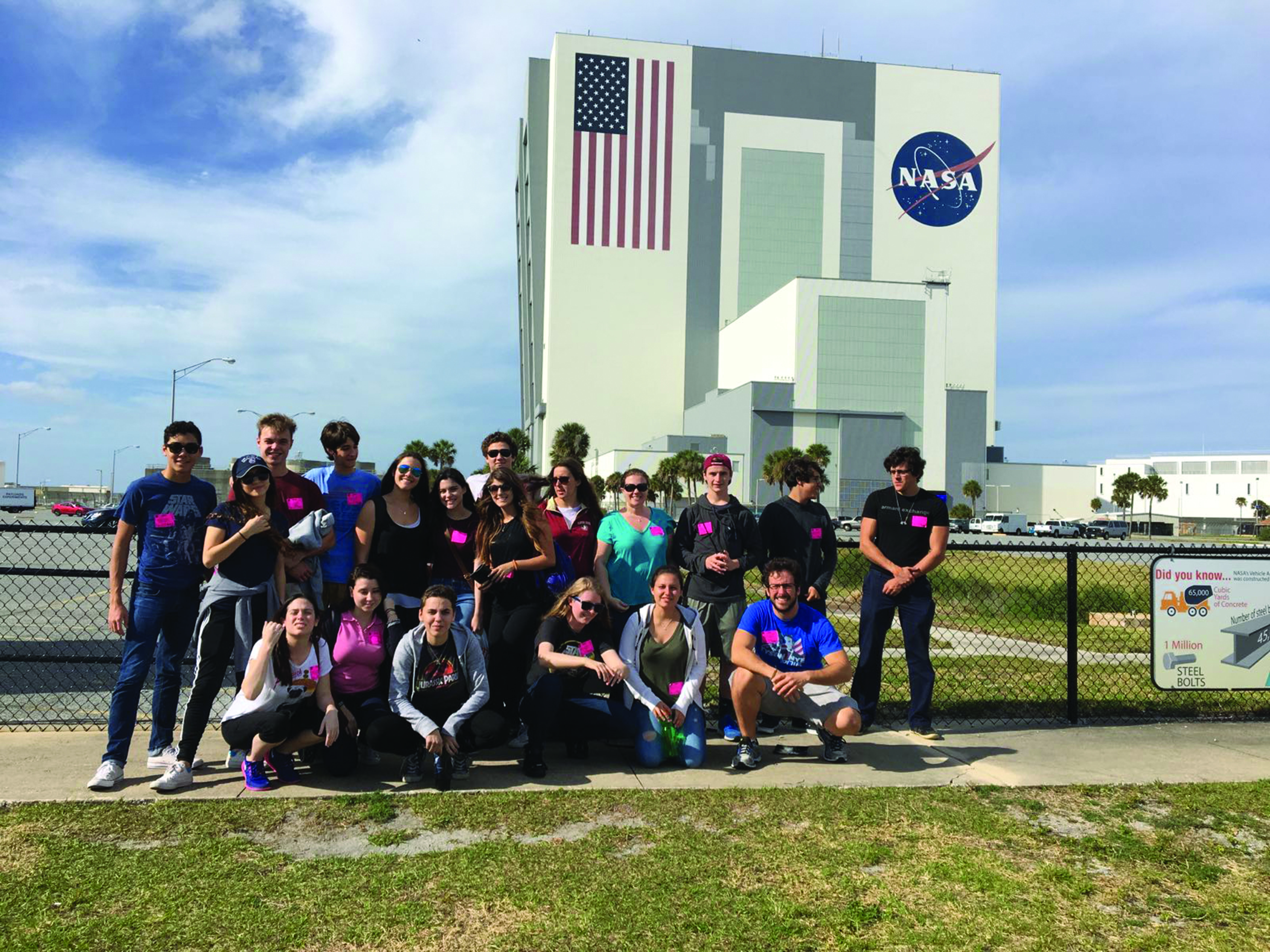 Students Explore the Kennedy Space Center
