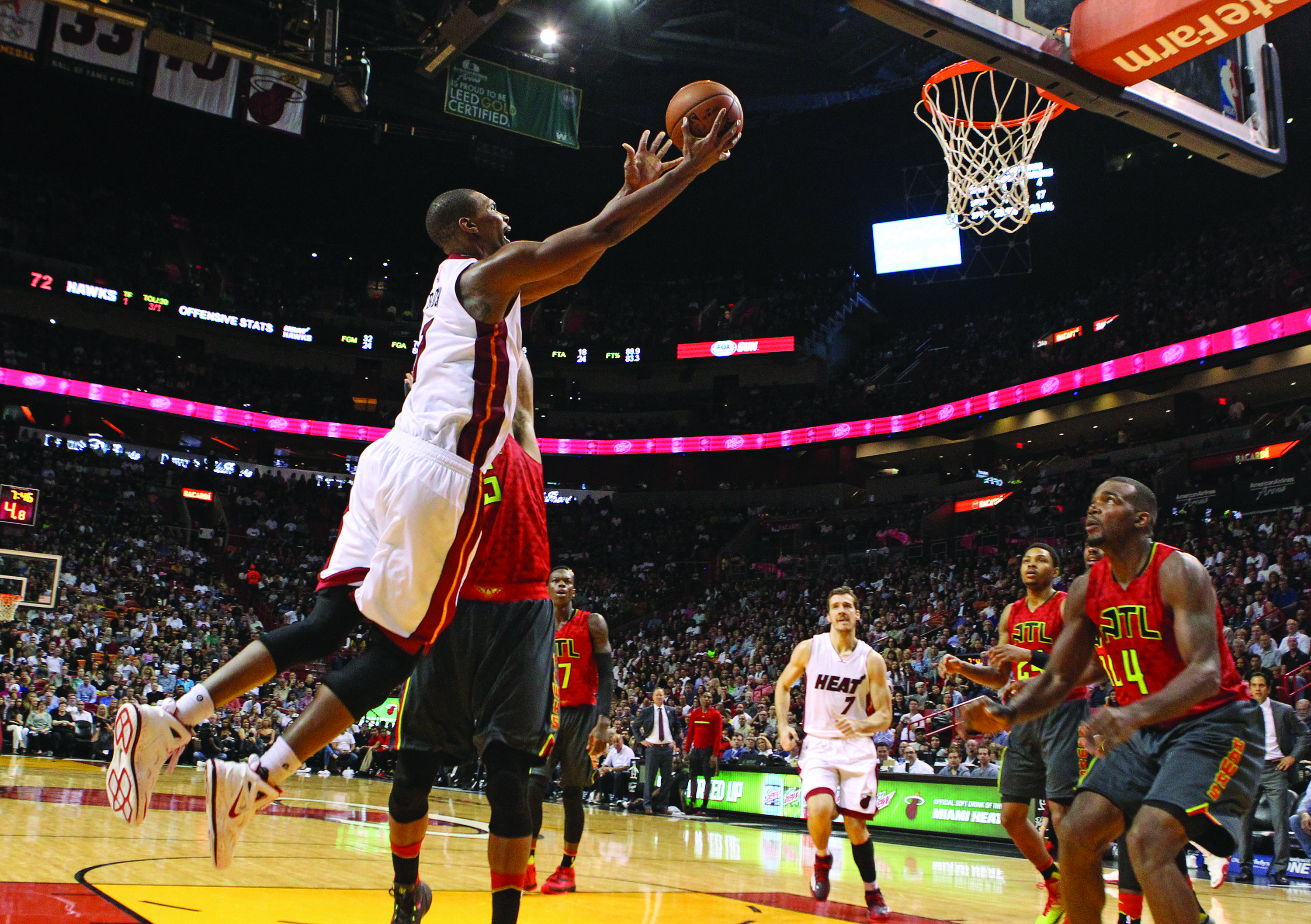 Chris Bosh hopeful of return after health scare