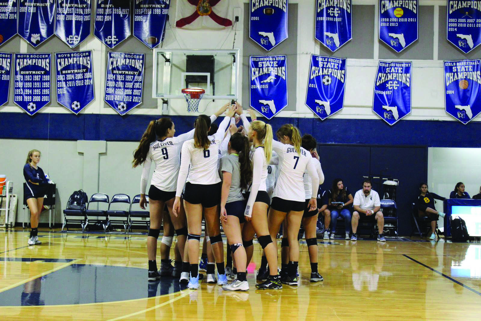 Volleyball team hopes early success leads to state title