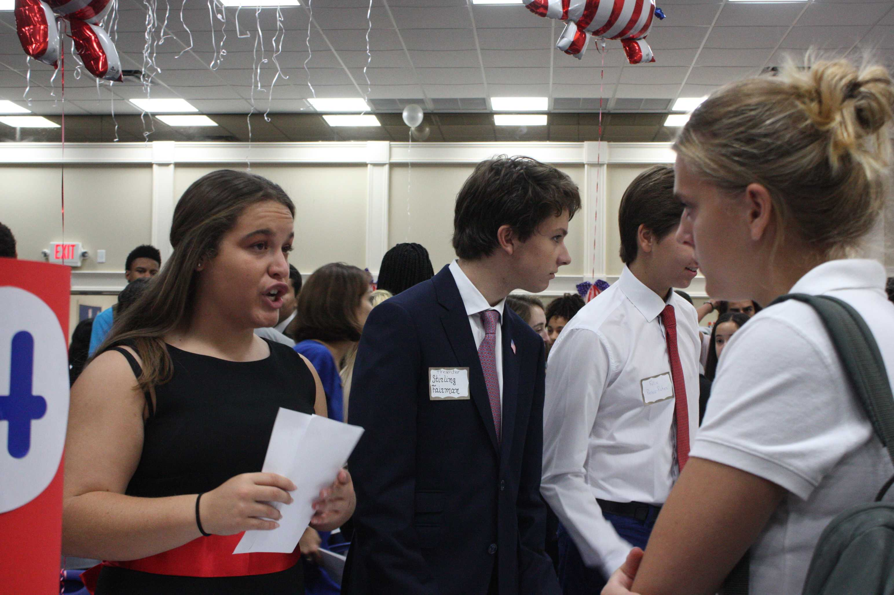 Miller Drive Holds Schoolwide Election Summit