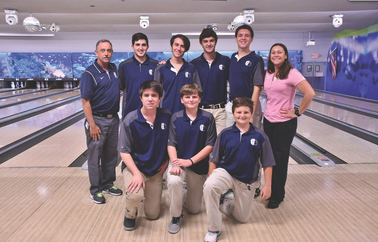 Boys' Bowling Team Shows Improvement Throughout Season