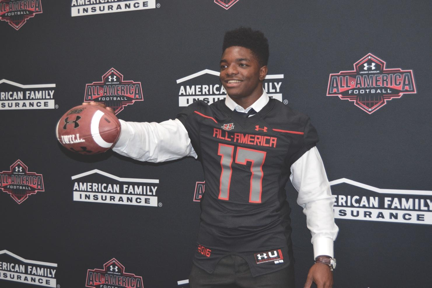 Senior Robert Burns Recognized as Under Armour All-American