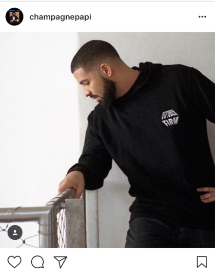 Hip Hop artist Drake posted on instagram the following after visiting miami