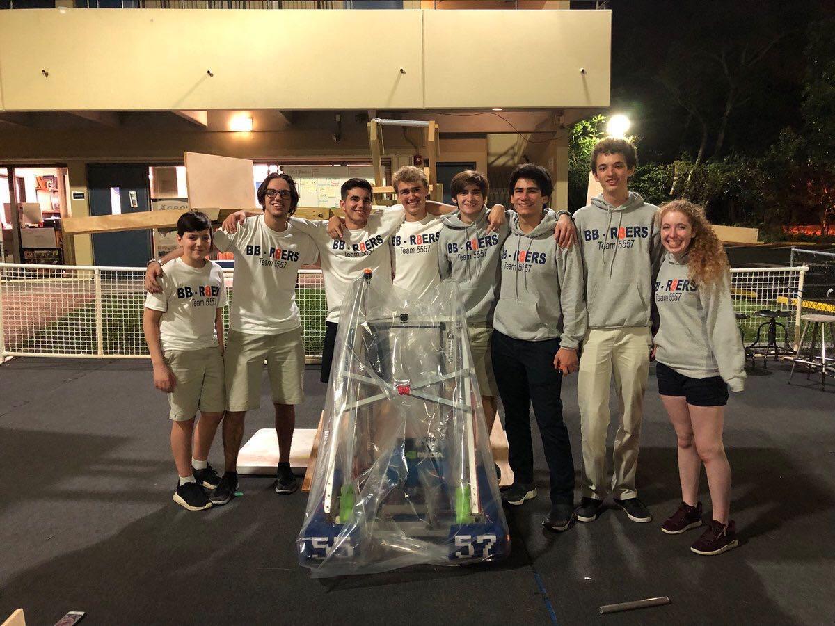 Robotics Club Participated in First Robotics Competition