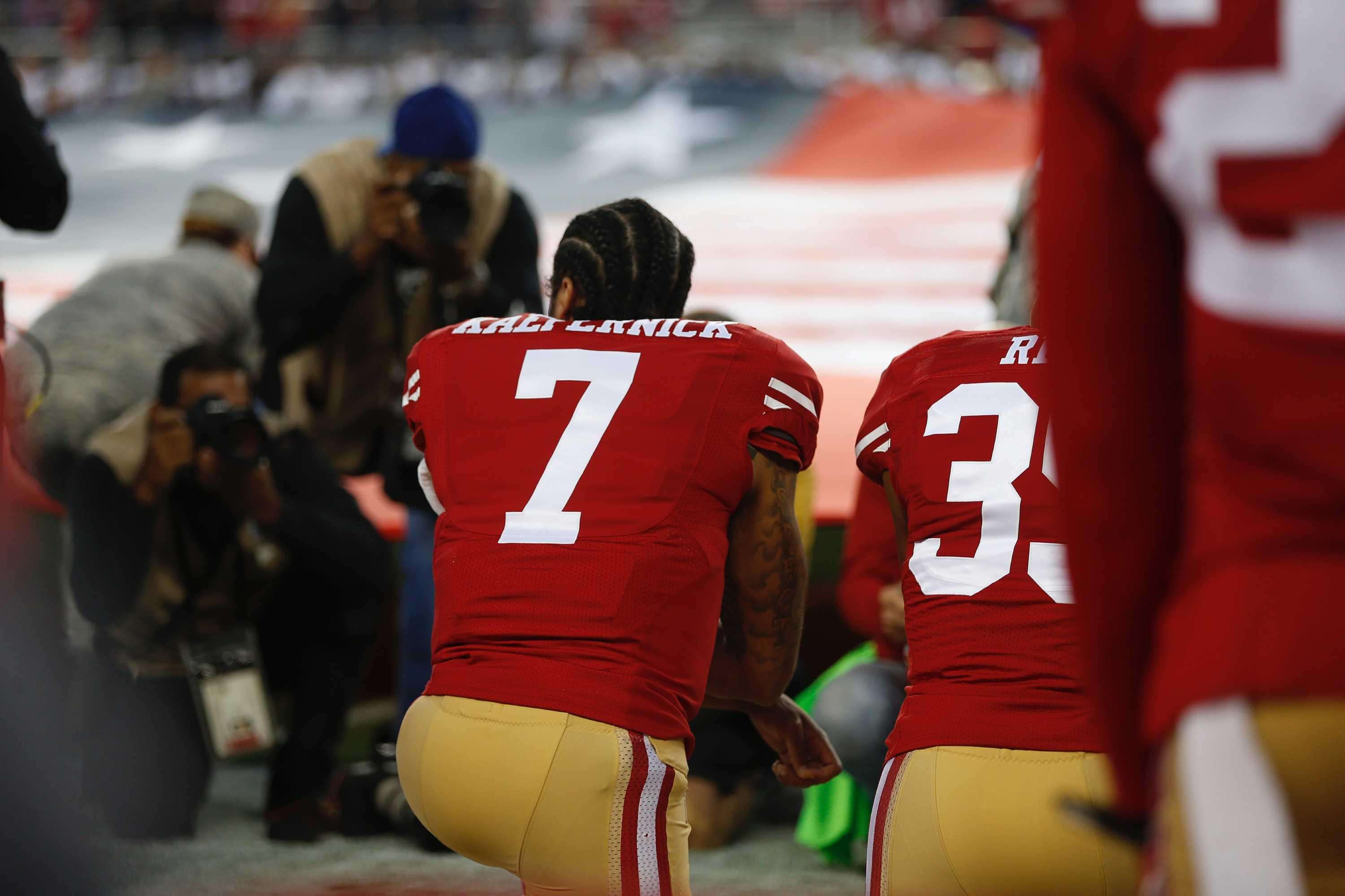 Kneeling for change and Nike's bold move to back Kaepernick
