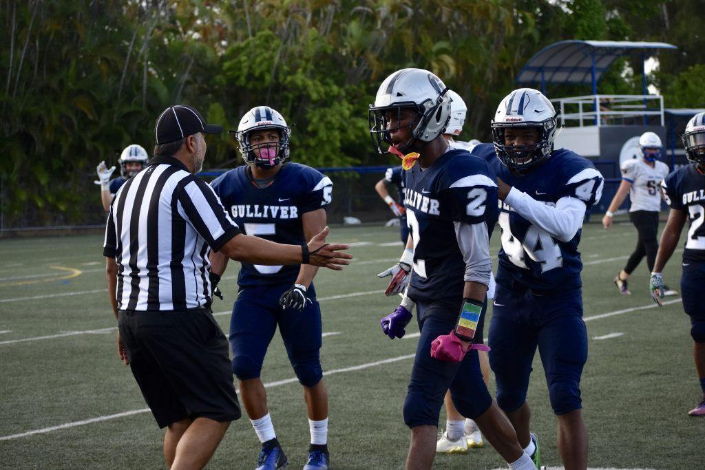 Raider Football continues hot streak with homecoming win over John Carroll