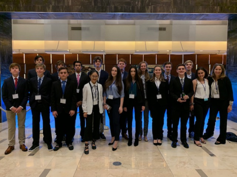 Five Business Club Students Qualify for the DECA International Career Development Conference