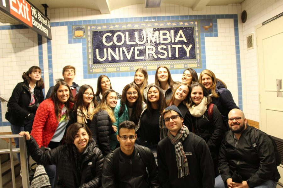 Journalism Students travel to NYC to receive CSPA Silver Crown, attend media and yearbook sessions
