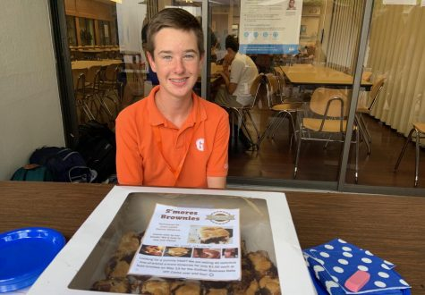 Business students practice marketing and sales at Monday's Business Bake-off