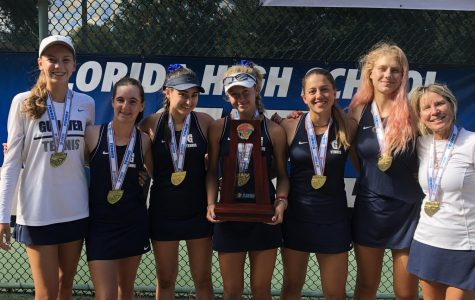 Girls tennis defeats Jacksonville Bolles to become Class 2A state champions
