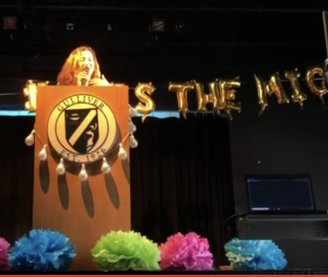Video: Global politics students share their passions at the Pass the Mic event