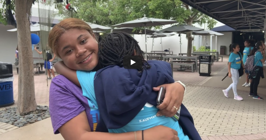 Breakthrough Miami volunteer form special relationships with the kids they taught. The team met up at the Prep campus on Saturdays to reinforce skills in subjects such as reading and science, as well as engage in outdoor activities. Video by Lucas Figueroa and Kathleen Lewis.