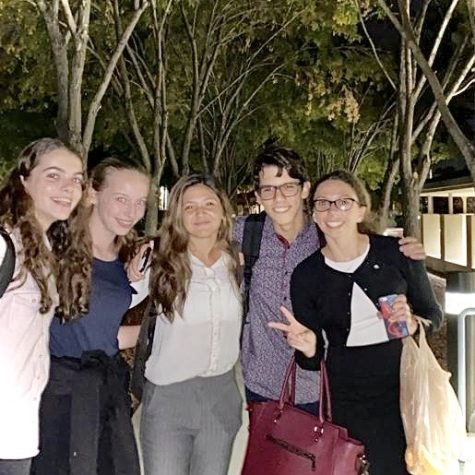 Freshman Laura Rovira and sophomores Daniela Chiarini, Jacob Gelrud, and Carina Villalona travel across the country for debate tournaments. They recently returned from the Meadows tournament in Las Vegas, Nevada and won several rounds.