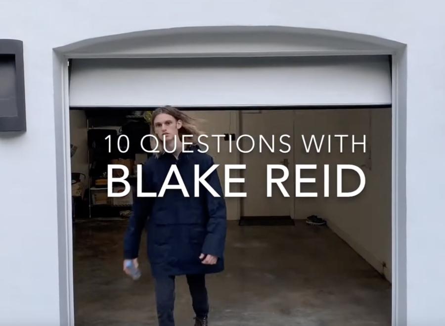 Ten Questions with Blake Reid