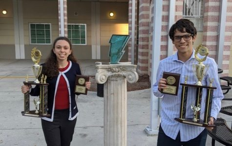 Debate Students Place 2nd and 3rd Speakers in State Competition