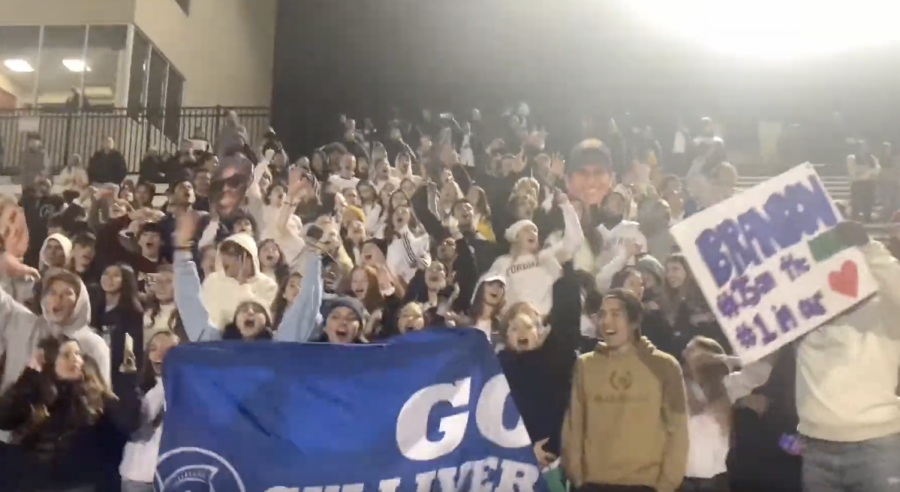 Fans React to Varsity Soccer State Championship