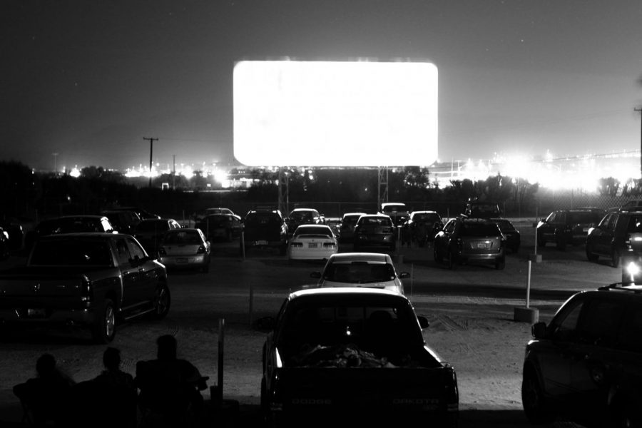 People+park+in+their+cars+and+enjoy+a+night+at+the+movies.+While+social+distancing%2C+it%27s+time+to+bring+back+the+old+days+of+going+to+a+drive-in+and+enjoying+a+movie+the+old-fashioned+way.