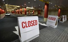 Signs announce the closure of Tropicana Atlantic City, Monday night, March 16, 2020. Gov. Phil Murphy ordered casinos, movie theaters and gyms to close indefinitely, beginning 8 p.m., to help fight the spread of the coronavirus.
