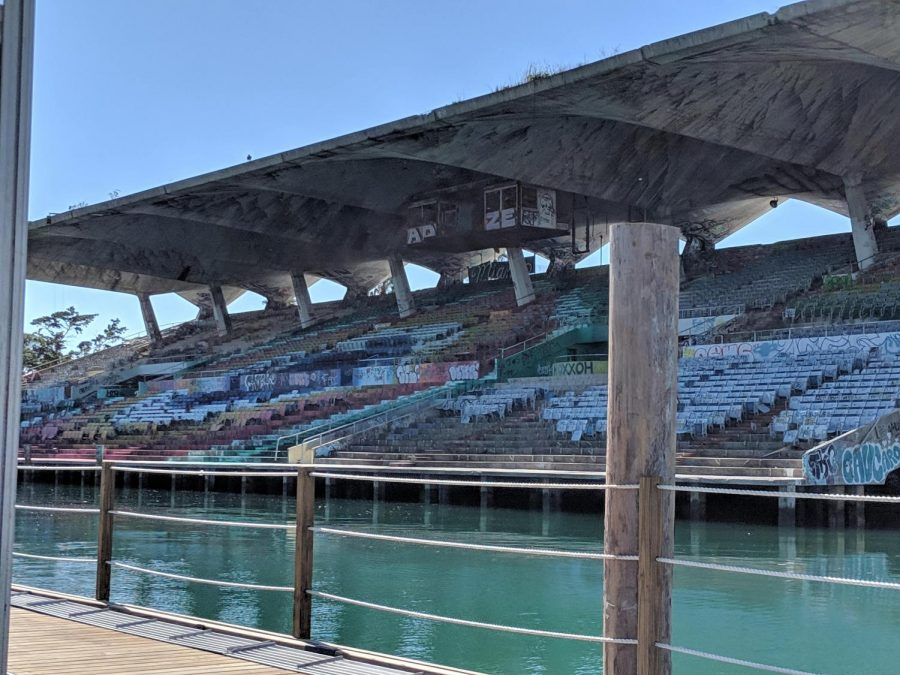 Among many of Miami's forgotten treasures is Miami Marine Stadium. Since the sixties, it's hosted celebrities, water sports and boat shows, but now it remains an unused spectacle on Virginia Key.