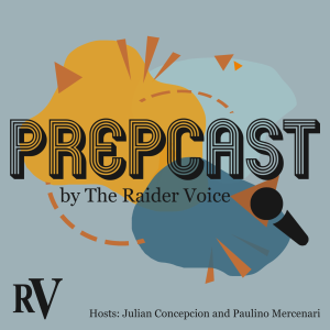 The Prepcast cover art, hosts Julian Concepcion and Paulino Mercenari.
