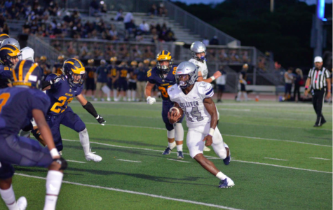 Sophomore running back Sedrick Irvin scored twice and ran for 64 yards on eight carries, averaging eight yards a carry.The Raiders defeated Belen Jesuit with a final score of 42-7 last Friday, and their next game is today, Oct. 9, at 4:00 p.m.
