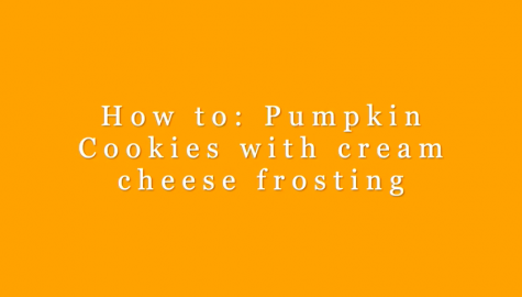 Fall Treats: Pumpkin Cookies with Cream Cheese Frosting