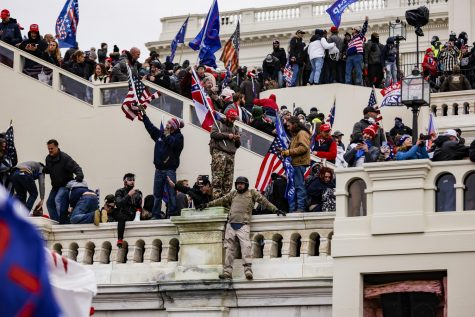 Pro-Trump supporters storm the U.S. Capitol following a rally with President Donald Trump on Wednesday, Jan. 6, 2021 in Washington, D.C. Congress held a joint session Wednesday to ratify President-elect Joe Biden
