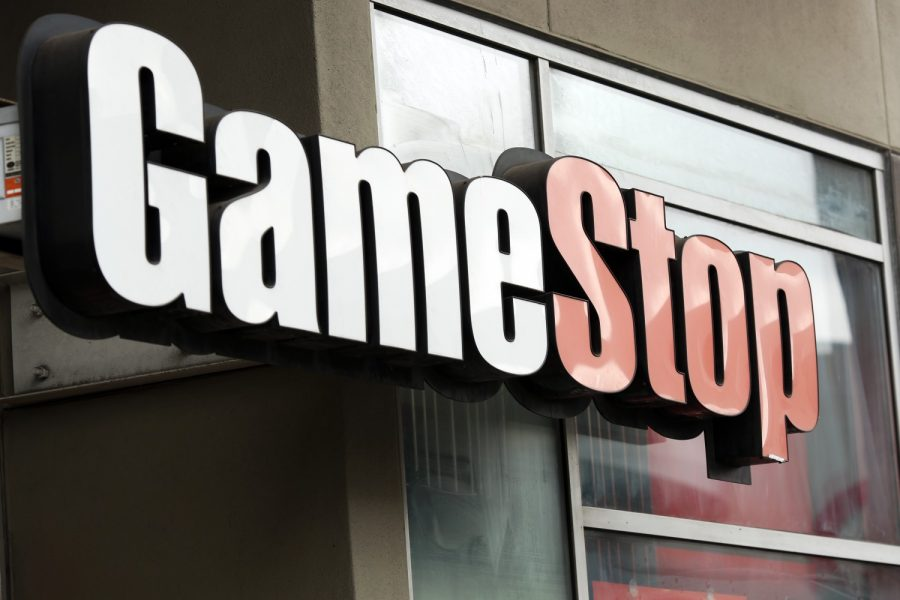 A GameStop store in Los Angeles. (Dania Maxwell/Los Angeles Times/TNS)