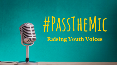 IB Global Politics HL classes are raising youth voices through Pass the Mic.