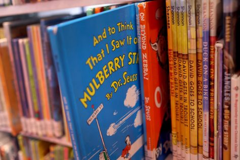 """""""And to Think That I Saw It on Mulberry Street"""" is one of six books by Theodor Seuss Geisel, aka Dr. Seuss, that will no longer be published."""