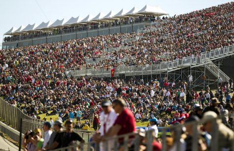 In this photo from 2012, F1 fans pack the stands during the qualifying sessions for the Formula One U.S. Grand Prix race at the Circuit of the Americas. Formula One racing will officially come to Miami.