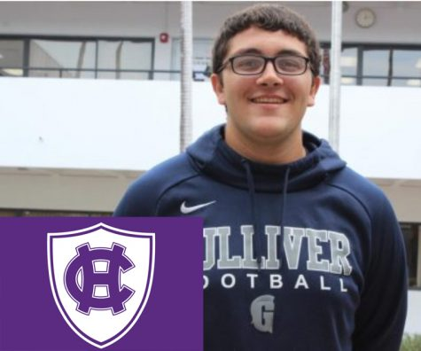 Our senior Sports Editor Eduardo Cachon will be attending the College of the Holy Cross.