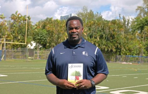 Sims' Softer Side: Head Football Coach Earl Sims Publishes Poetry Collection