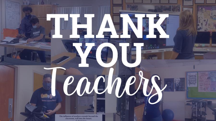 Teacher Appreciation Week: Thank You Teachers!