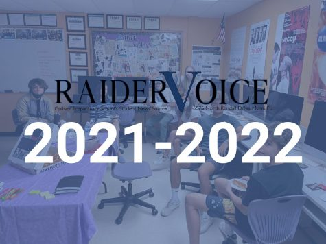 Welcome to The Raider Voice 2021-2022!