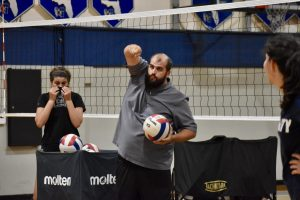 Emilio Rodriguez will serve as the new head coach for the girls volleyball team. After six years away from coaching high school-level volleyball, Rodriguez is excited to be back on the court with the Raiders.
