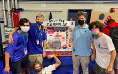 Gulliver Gameplay, a club that although it had already been operating for a full year, showed itself off at Club Rush to the student body for the first time, due to last year's online format of Club Rush.