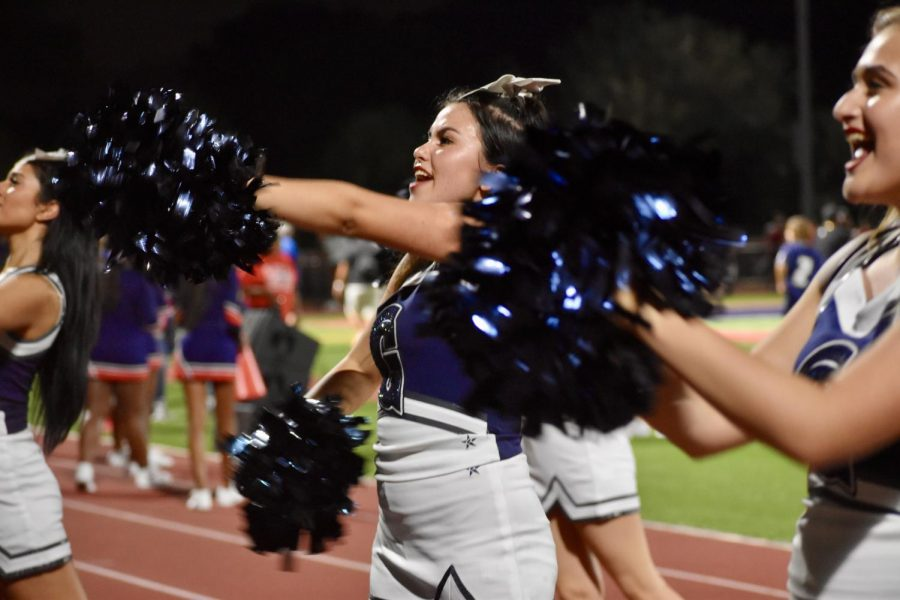 Despite the Raiders 31-16 loss to Chaminade, cheerleaders and fans attended the away game to show support.