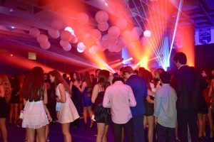 Despite the pandemic, students had the opportunity to enjoy Homecoming traditions at the dance in the gym.
