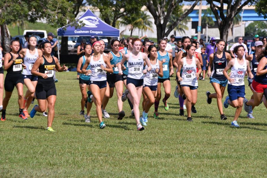On Oct. 16, the cross country team competed in the FL Runners Invitational. The girls team had a strong performance, placing in the top 10 teams of the meet.