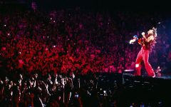 Harry Styles kicks off his Love On Tour at the MGM Grand Garden Arena in Las Vegas.